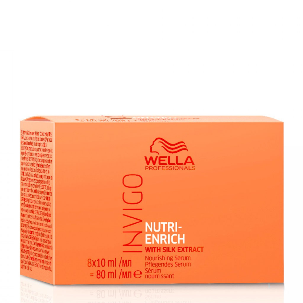 Sérum Nutri-Enrich Invigo - Wella Professionals - 8 x 10 ml