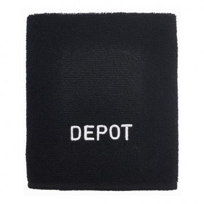 Serviette noire - Depot
