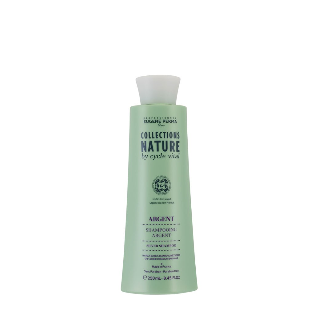 Shampooing Argent Collections Nature by Cycle Vital - Eugène Perma Professionnel - 250 ml