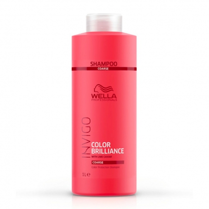 Shampooing Color Brilliance, cheveux épais Invigo - Wella Professionals - 1 L