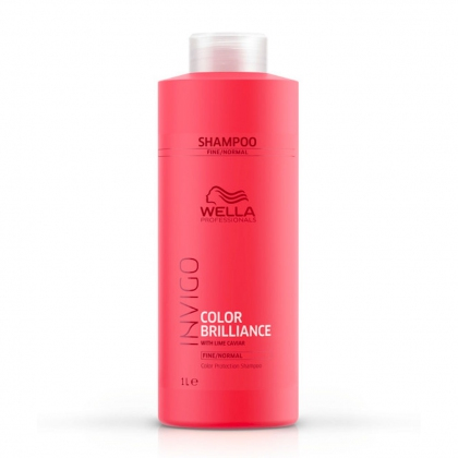Shampooing Color Brilliance, cheveux fins Invigo - Wella Professionals - 1 L