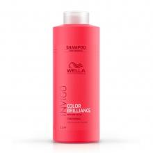 Shampooing Color Brilliance, cheveux fins Invigo - Wella Professionals - 1 L