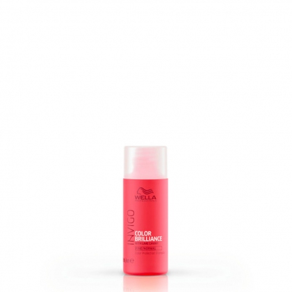 Shampooing Color Brilliance, cheveux fins Invigo - Wella Professionals - 50 ml