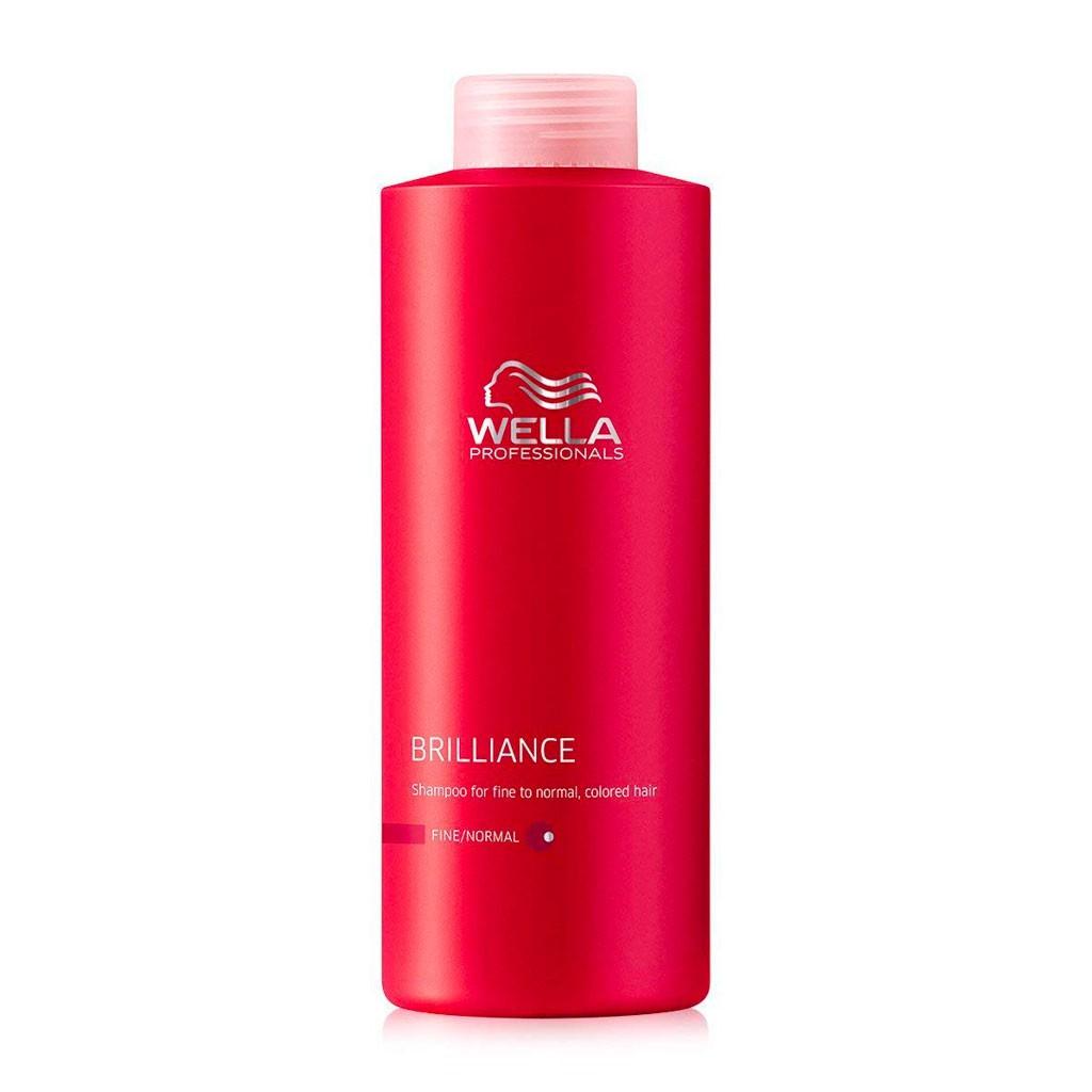 Shampooing Color Brilliance, cheveux fins Invigo - Wella Professionals - 500 ml