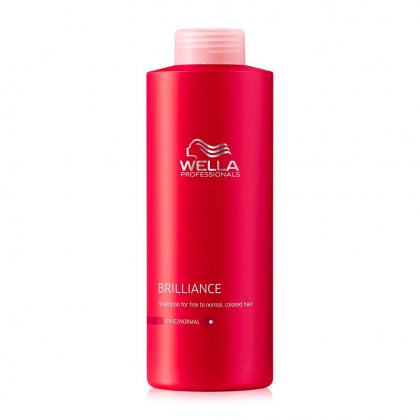 Shampooing Color Brilliance, cheveux fins Invigo - Wella Professionals - 500 ml