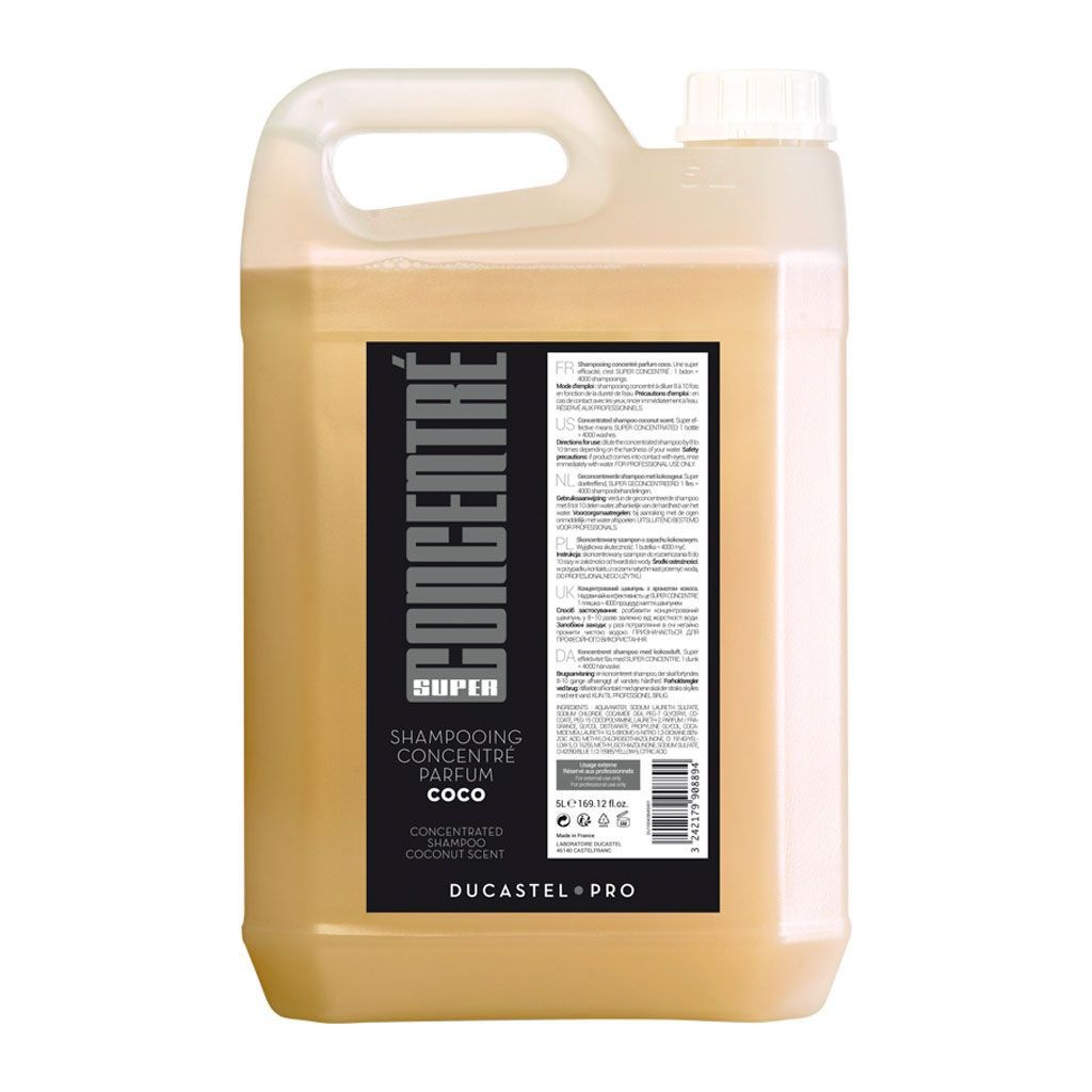 Shampooing Concentr´ pour professionnels - Ducastel Pro - 5 L