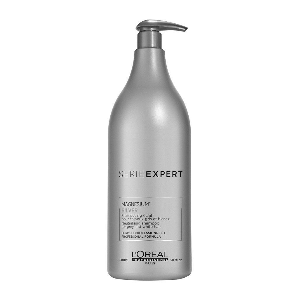 Shampooing Éclat Silver Série Expert - L\'Oréal Professionnel - 1500 ml