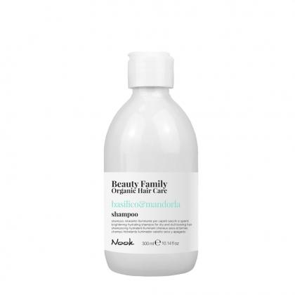 Shampooing hydratant illuminant Basilico & Mandorla Beauty Family