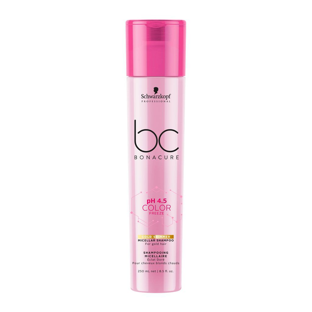 Shampooing micellaire Éclat Doré pH 4.5 Color Freeze BC Bonacure - Schwarzkopf Professional - 250 ml