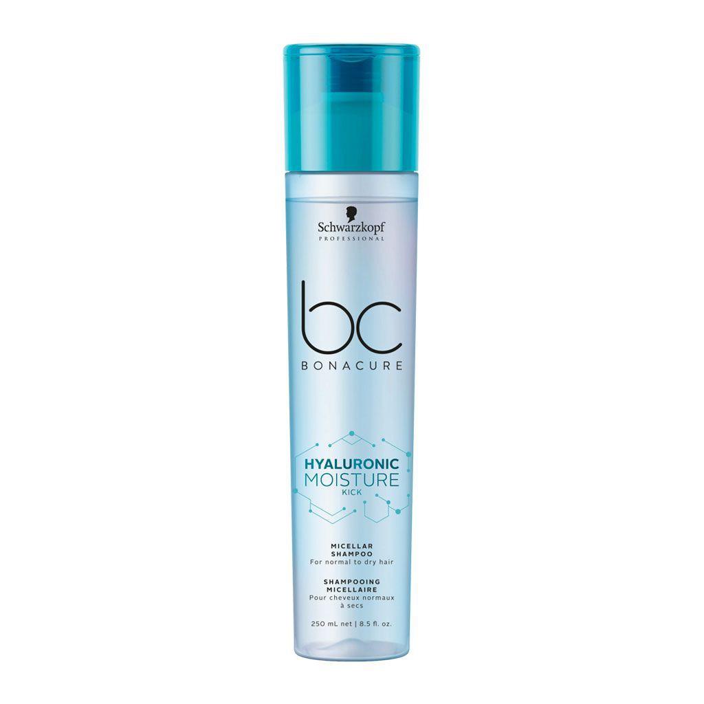 Shampooing Micellaire Hyaluronic Moisture Kick BC Bonacure - Schwarzkopf Professional - 250 ml