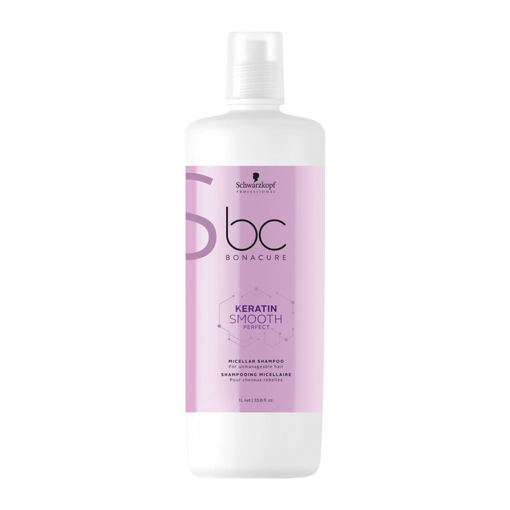 Shampooing Micellaire Keratin Smooth Perfect BC Bonacure - Schwarzkopf Professional - 1 L