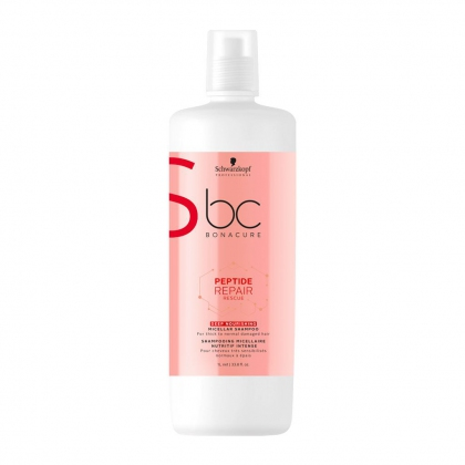 Shampooing micellaire Nutritif Peptide Repair Rescue BC Bonacure - Schwarzkopf Professional - 1 L