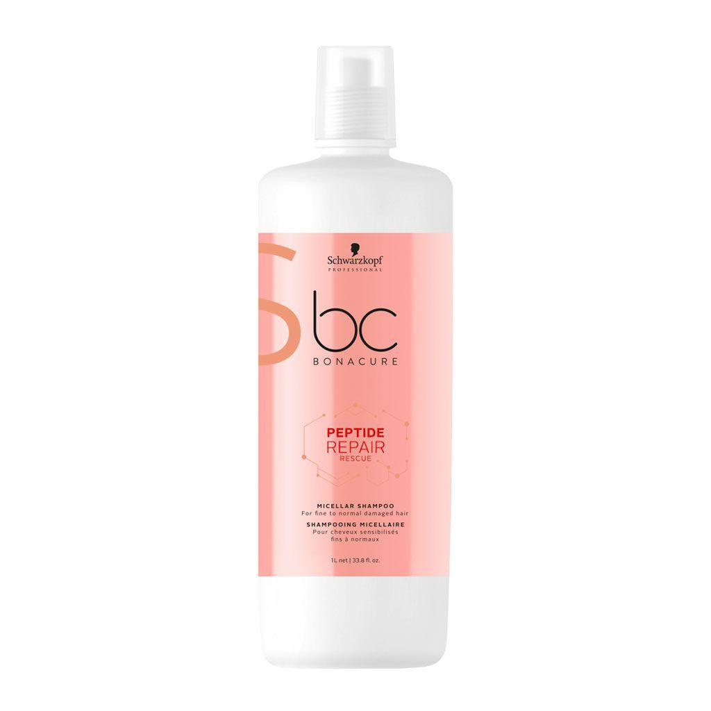 Shampooing micellaire Peptide Repair Rescue BC Bonacure - Schwarzkopf Professional - 1 L