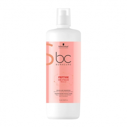 Shampooing micellaire Peptide Repair Rescue BC Bonacure - Schwarzkopf Professional - 1 L