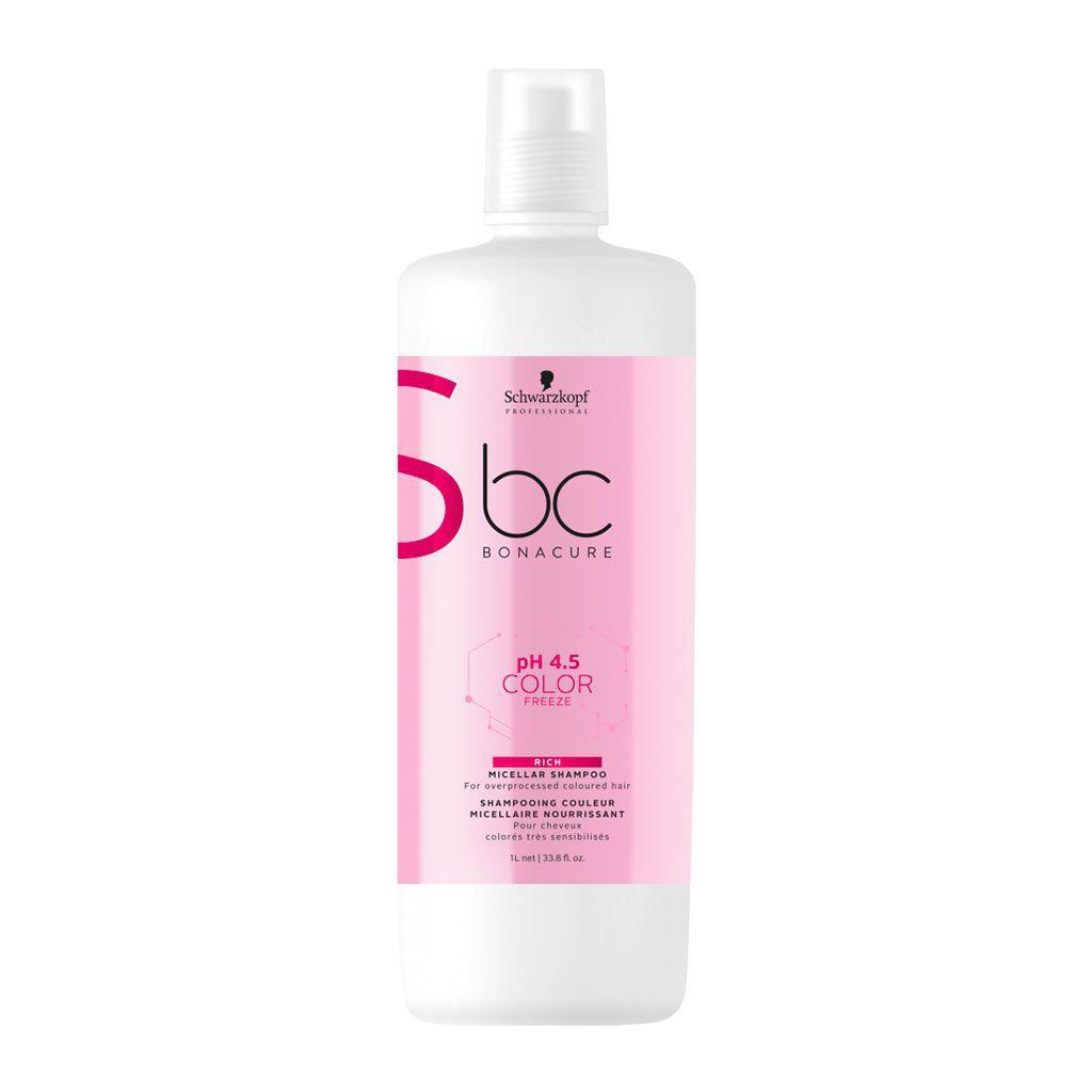 Shampooing micellaire pH 4.5 Color Freeze BC Bonacure - Schwarzkopf Professional - 1 L