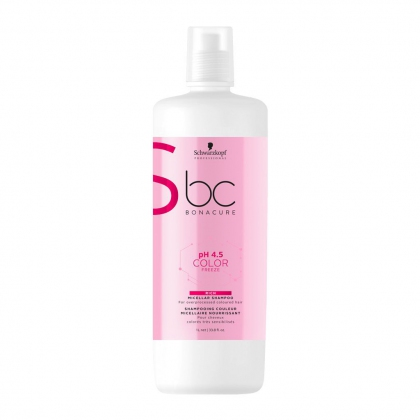 Shampooing micellaire pH 4.5 Color Freeze BC Bonacure - Schwarzkopf Professional - 1 L
