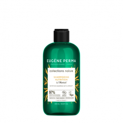 Shampooing Nutrition à l\'abricot bio - Collections Nature