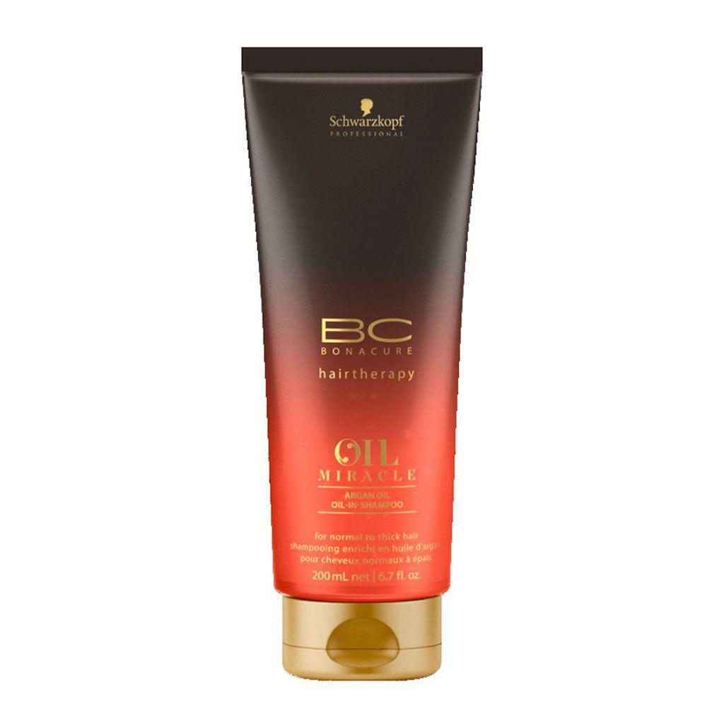 Shampooing Oil Miracle à l\\\'huile d\\\'argan BC Bonacure - Schwarzkopf Professional - 200 ml