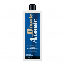 Shampooing pour cheveux blonds et blancs Blonde Atomic - Ducastel Pro - 1 L