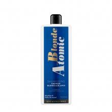 Shampooing pour cheveux blonds et blancs Blonde Atomic - Ducastel Pro - 500 ml