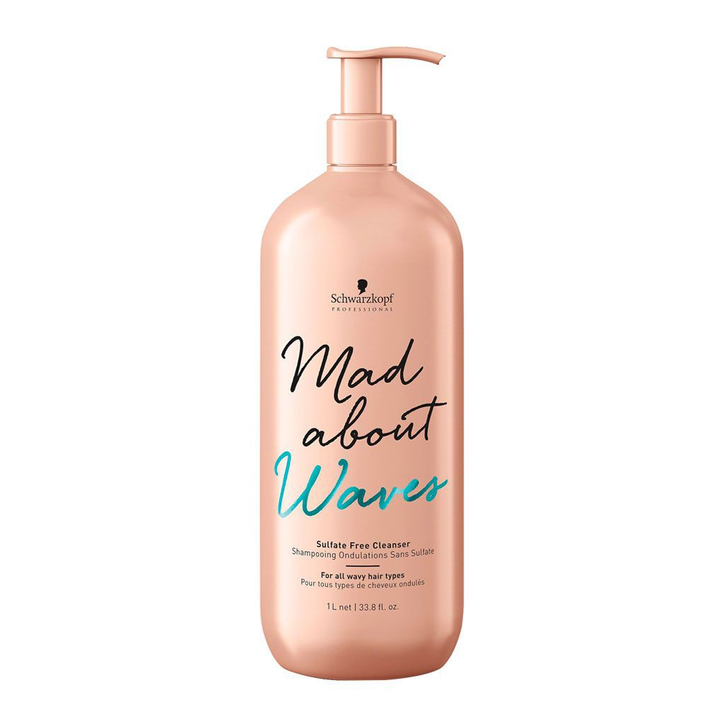 Shampooing pour ondulations Mad About Waves - Schwarzkopf Professional - 1 L