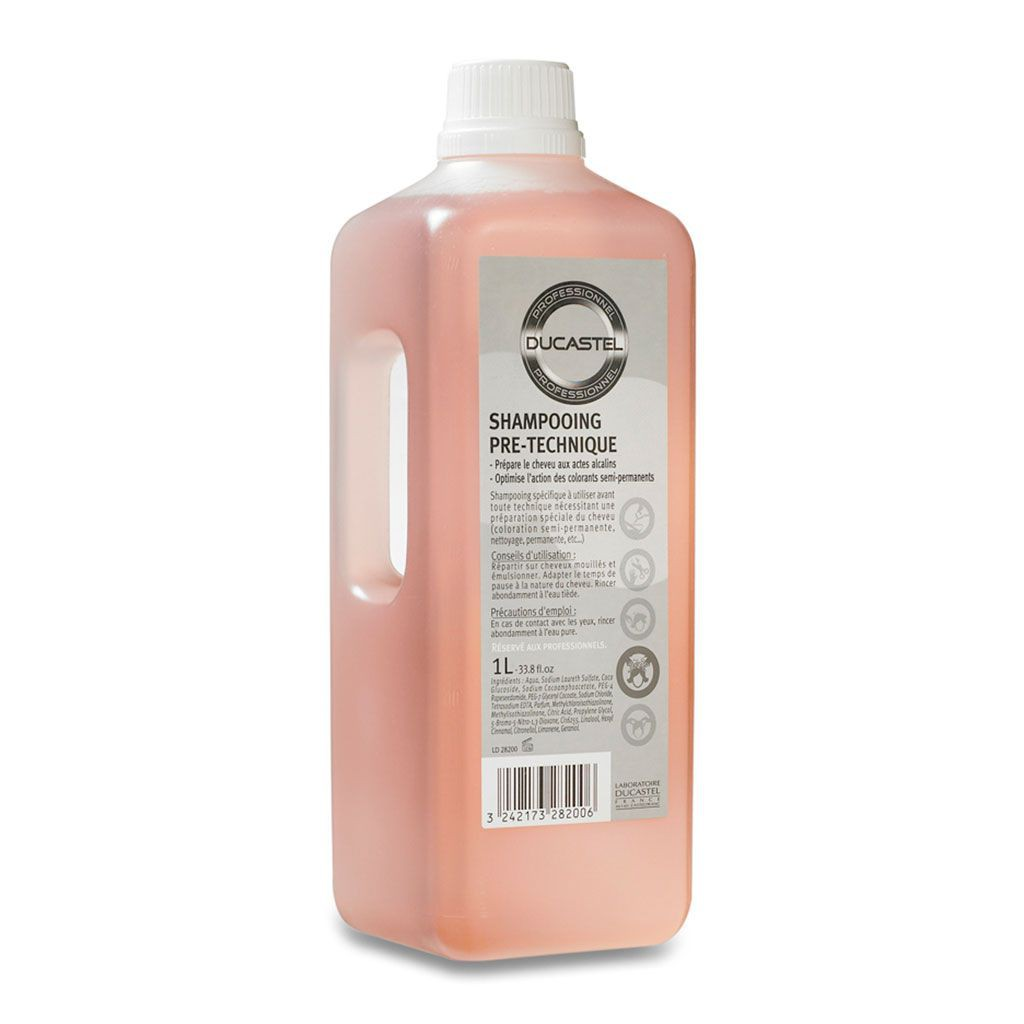 Shampooing Pr´-Technique pH Basique - Ducastel Pro - 1 L