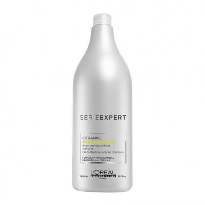 Shampooing purifiant Pure Ressource Série Expert - L\'Oréal Professionnel - 1500 ml
