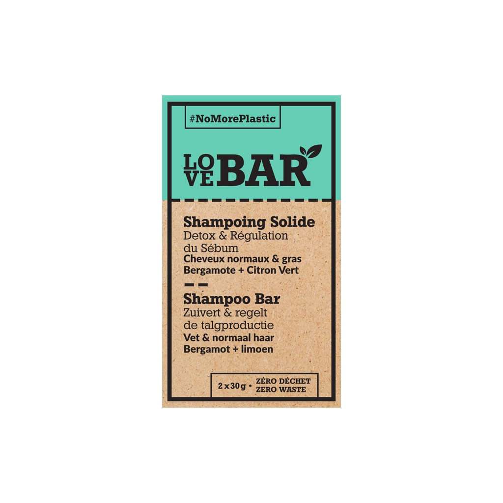 Shampooing solide Detox & Régulation