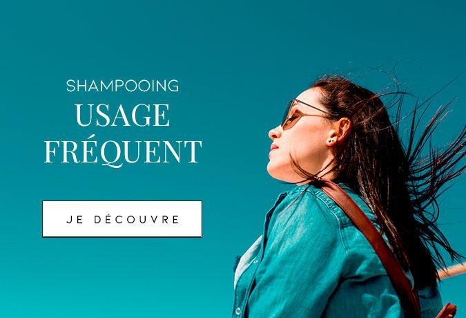 Shampooing pour usage fréquent