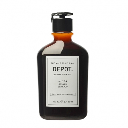 Silver Shampoo No. 104 - Depot - 250 ml