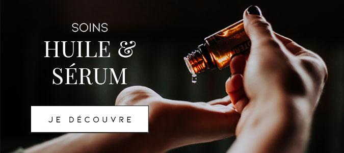 Soins pour cheveux : huiles & sérums