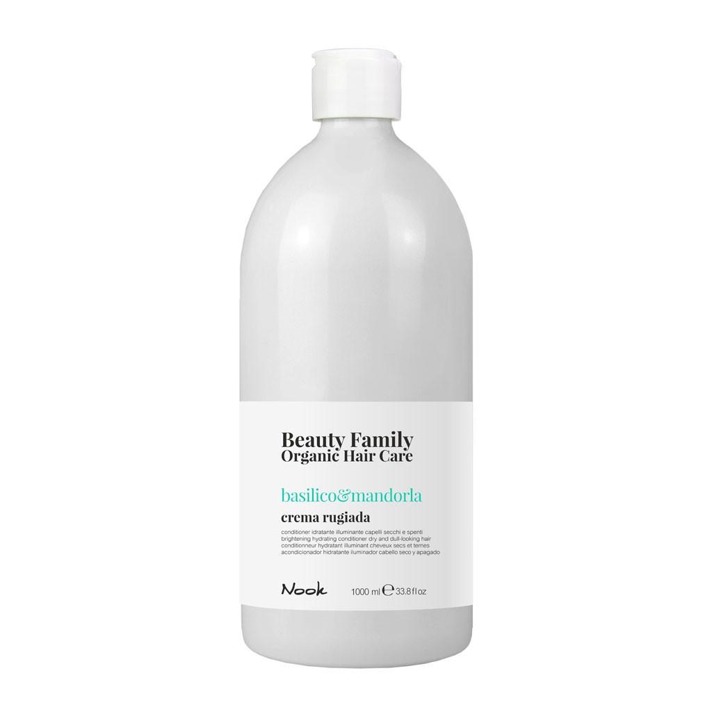 Soin hydratant illuminant Basilico & Mandorla Beauty Family