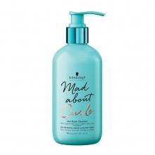 Soin lavant mousse légère boucles Mad About Curls - Schwarzkopf Professional - 300 ml