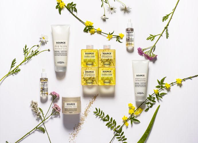 Gamme de produits Source Essentielle de L'Oréal Professionnel