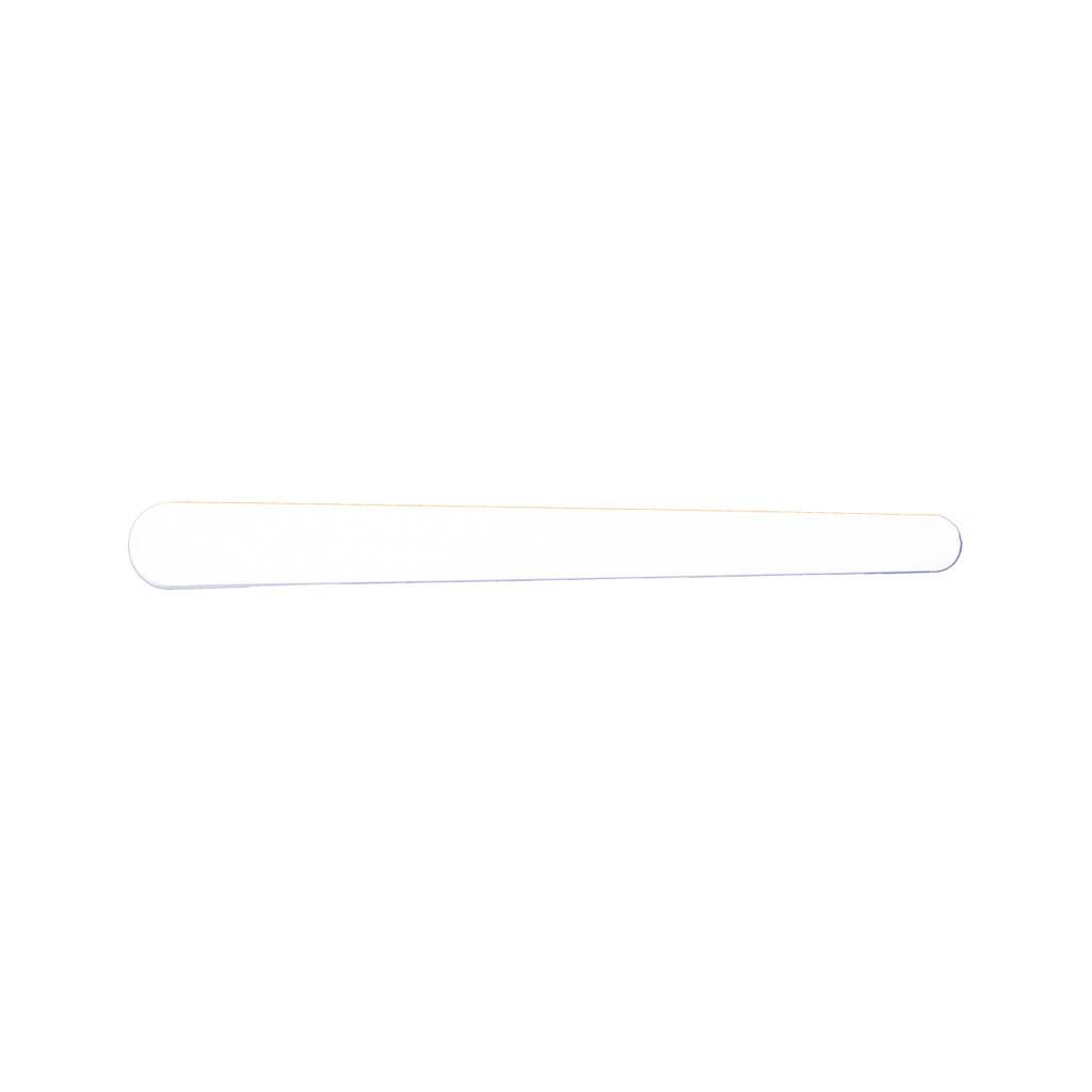 Spatule crème plastique 9cm