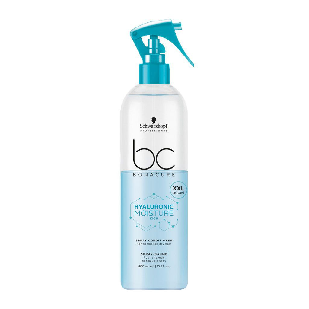 Spray-Baume Hyaluronic Moisture Kick BC Bonacure - Schwarzkopf Professional - 400 ml