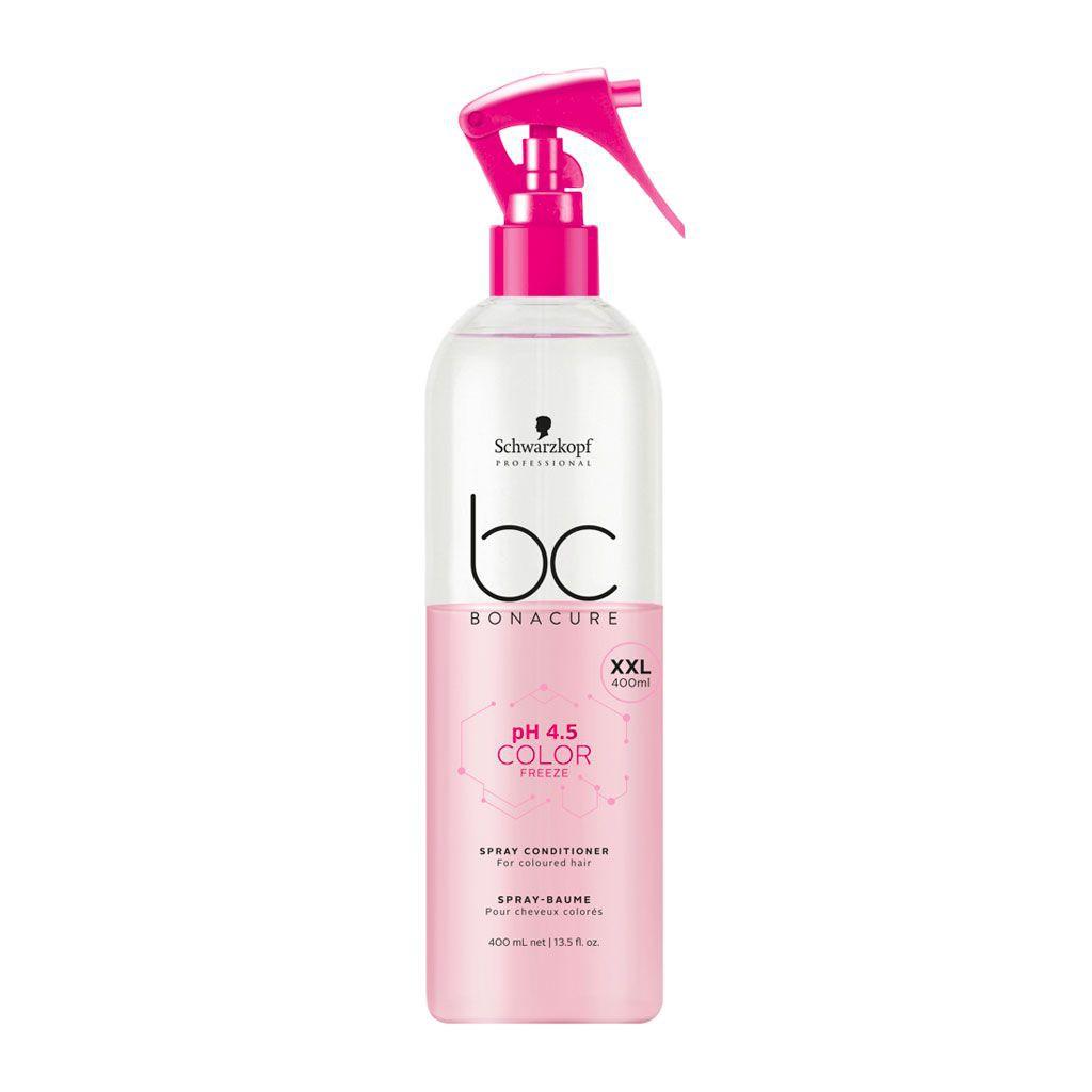 Spray-baume pH 4.5 Color Freeze BC Bonacure - Schwarzkopf Professional - 400 ml