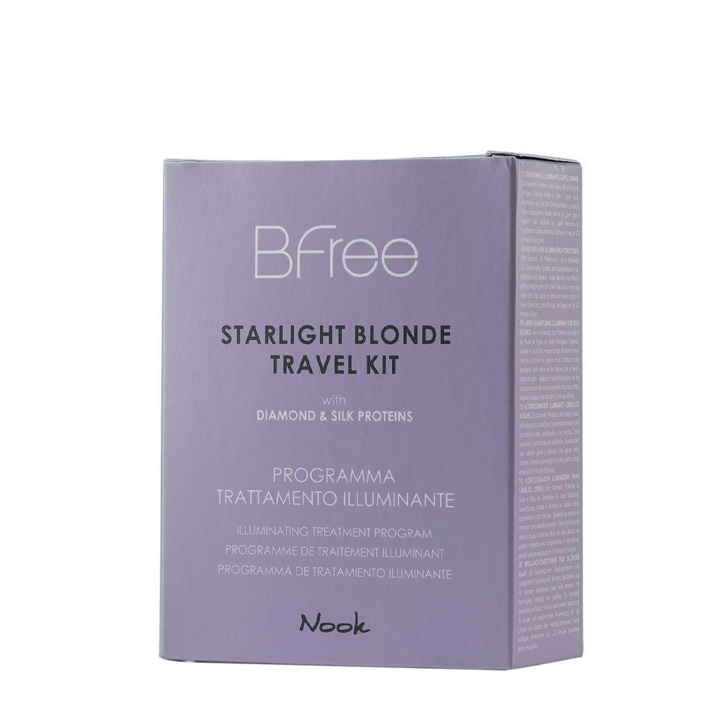 Starlight Blonde Travel Kit Bfree - Nook - 100 ml + 50 ml