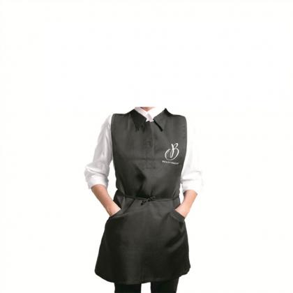 Tablier chemise noir