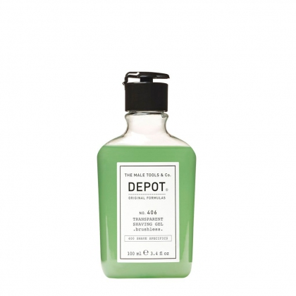 Transparent Shaving Gel No. 406 - Depot - 100 ml